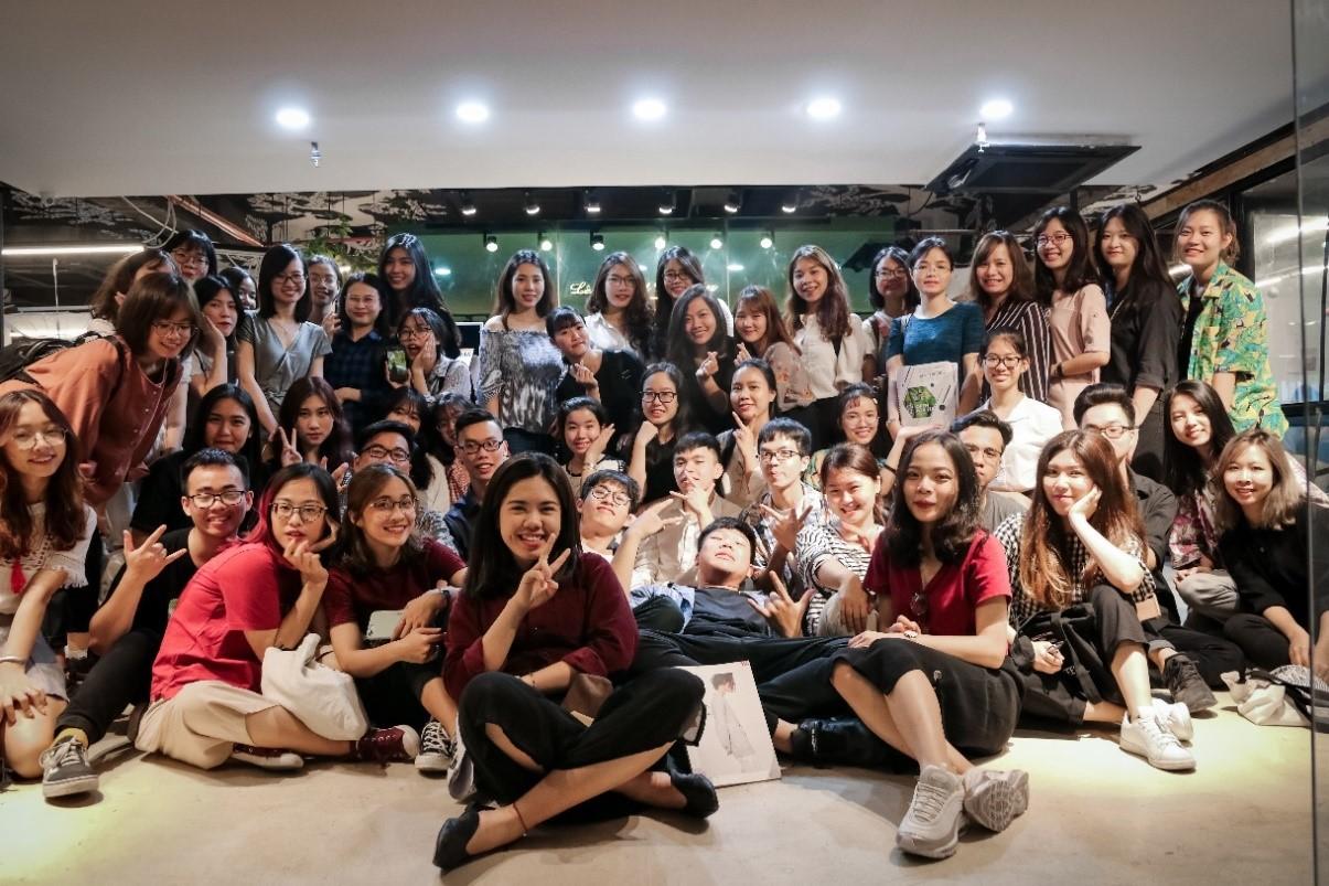 Chuyến đi thực tế doanh nghiệp môn Nghiên cứu Marketing của lớp POHE Truyền thông Marketing 59