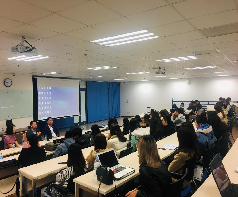 Bộ môn Marketing tổ chức gặp gỡ doanh nghiệp và sinh viên thực tập tốt nghiệp Học kỳ 2 năm học 2019 – 2020