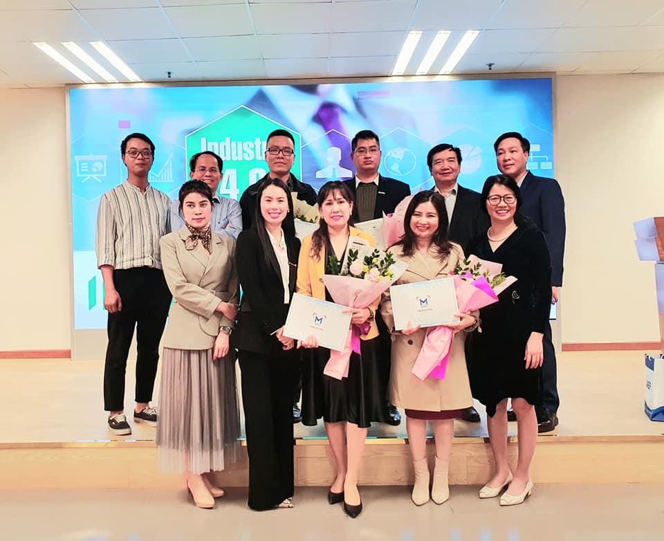 Chương trình phổ biến Kế hoạch thực tập và chia sẻ của Công giới với sinh viên chuyên ngành Quản trị Marketing K59